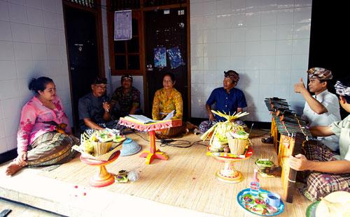 балийские музыканты
