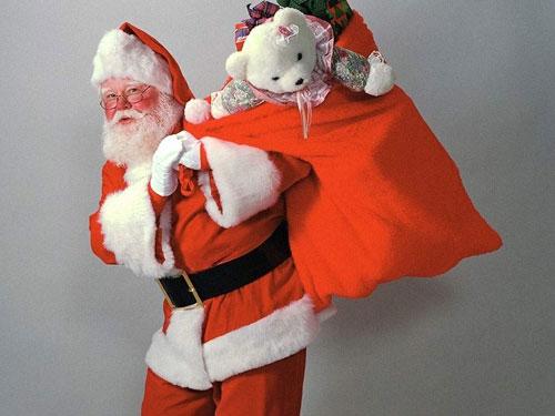 """Предпросмотр схемы вышивки  """"Дед Мороз """".  Дед Мороз, дед мороз, новый год."""
