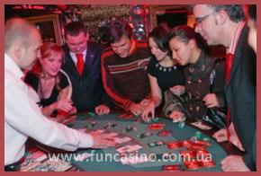 в стиле вегас: выездное фан-казино козырный туз.