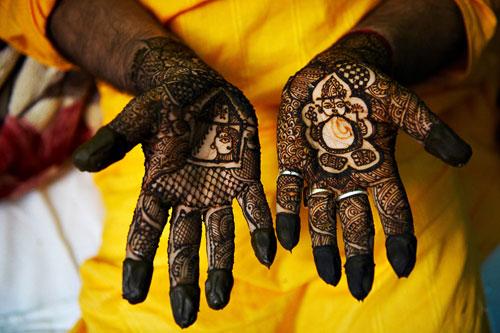 Индийская сари своими руками