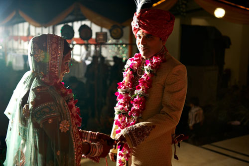 церемония бракосочетания в Индии