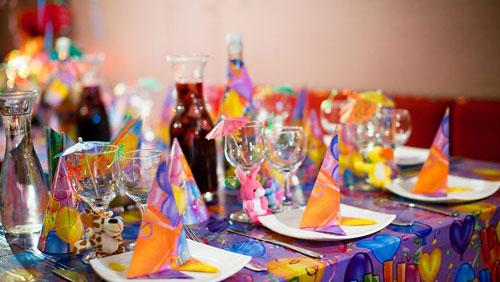 Украсить блюда для детского праздника